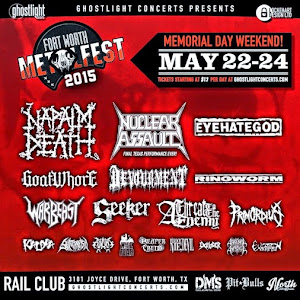 FORT WORTH METAL FEST 22/24 MAYO 2015