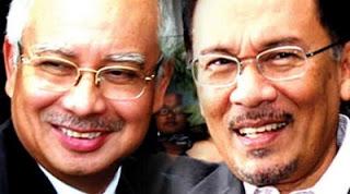 Anwar Ibrahim dan Najib Razak