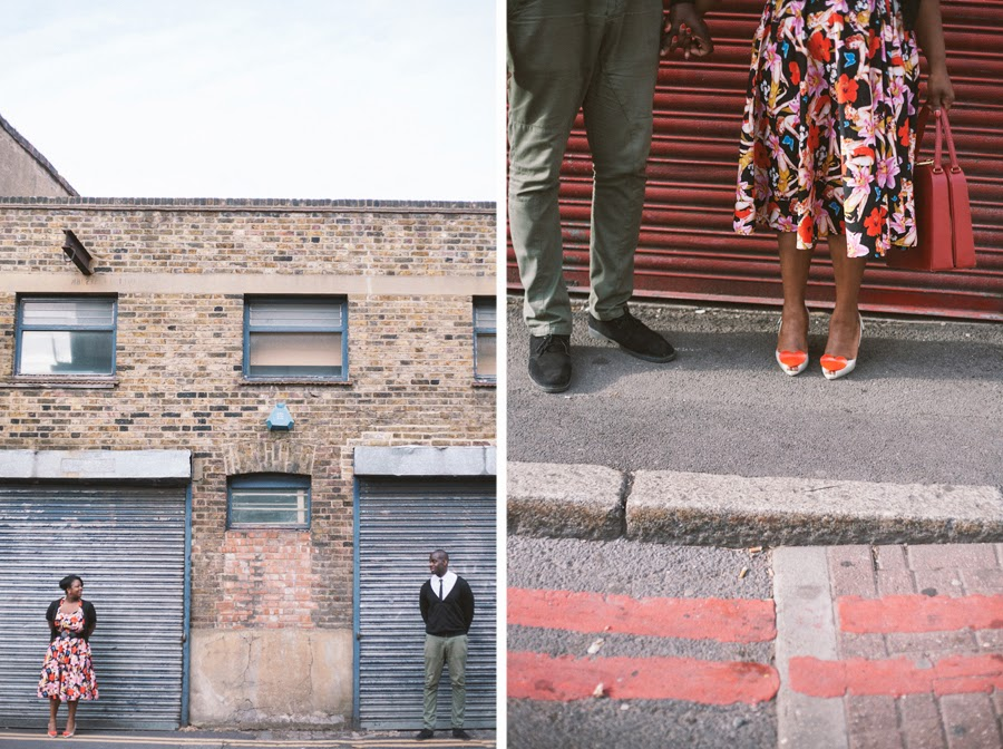 creative alternative engagement wedding photographer London
