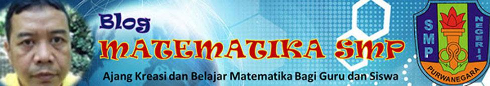 Blog MATEMATIKA SMP