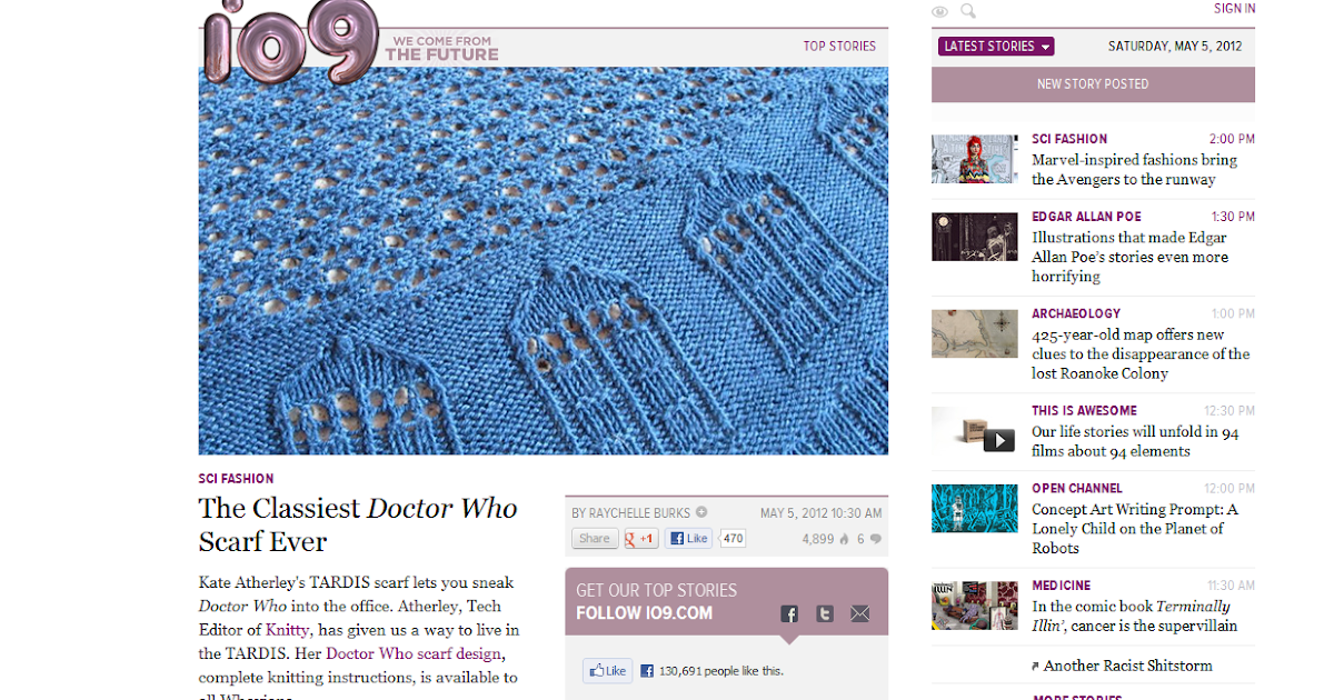 Kate Atherley Knits A Lot Mainly Socks The Classiest Doctor Who
