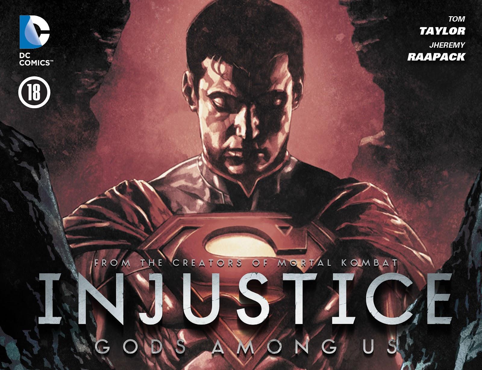 Injustice: Gods Among Us [I] Issue #18 #19 - English 1