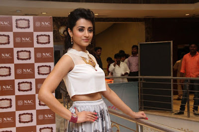 Trisha Photos at New NAC Store Launch in Mylapore