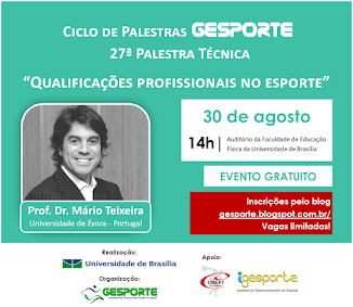 27ª Palestra Técnica - Prof. Dr. Mário Teixeira