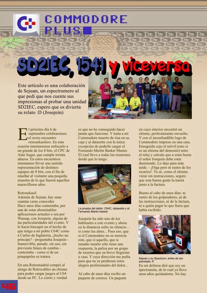 RetroWiki Magazine #10  SD2IEC, 1541 y viceversa