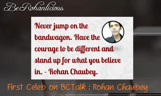Blogger Rohan Chaubey