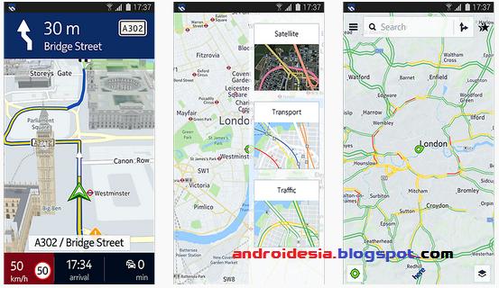 Download Here Maps - Aplikasi Peta Nokia untuk Android