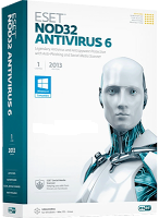 ESET NOD32 Antivirus 6 (2013) Full Version With Activator