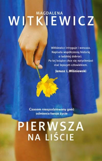 """""""Pierwsza na liście"""" – Magdalena Witkiewicz"""