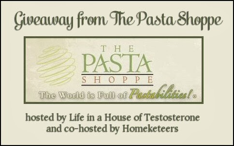 Enter to win a Pasta Shoppe goodie box. GIveaway ends 12/10.