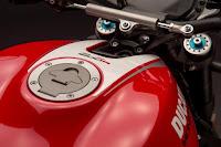 Ducati Monster 1200 R (2016) Tank Detail