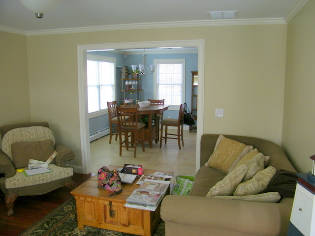 Maison decor decorating a house in 30 days on a tight budget for Tight living room designs