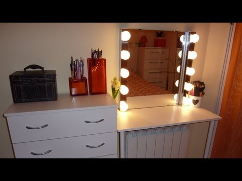 El blog de leticia realiza tu propio tocador - Espejos de tocador con luz ...