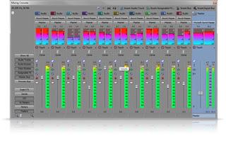 Sony Vegas Pro 12 audio control