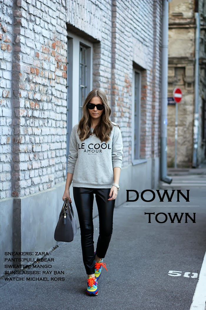 Fashion and style down town Fashion and style vanja
