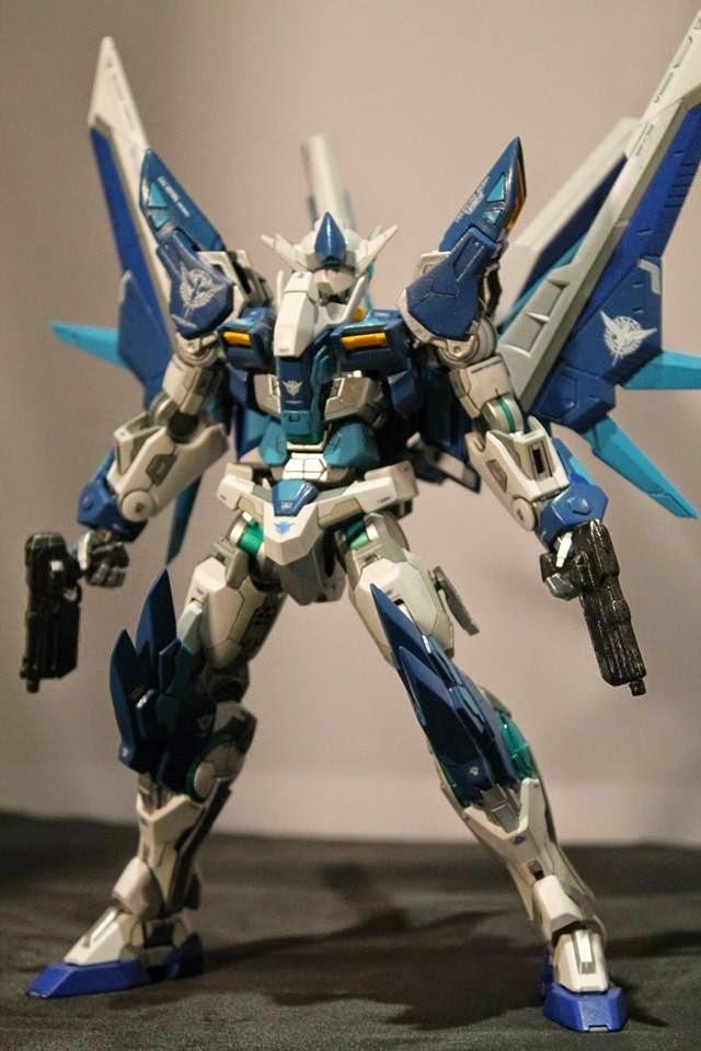 GUNDAM GUY: 1/100 Gundam 00 Ryuu - Custom Build