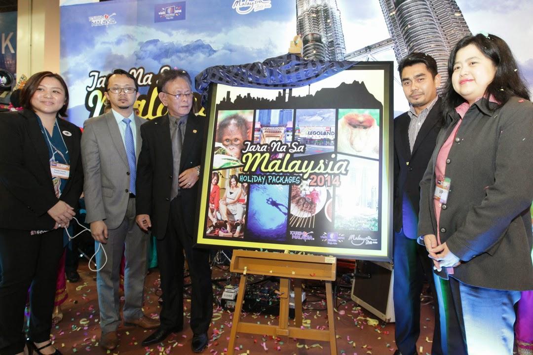 2014 PTAA Travel Tour Expo: 'Tara Na Sa Malaysia' Holiday Packages Brochure
