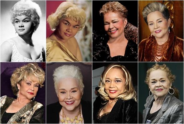 Etta James em todas as fases de sua vida e carreira