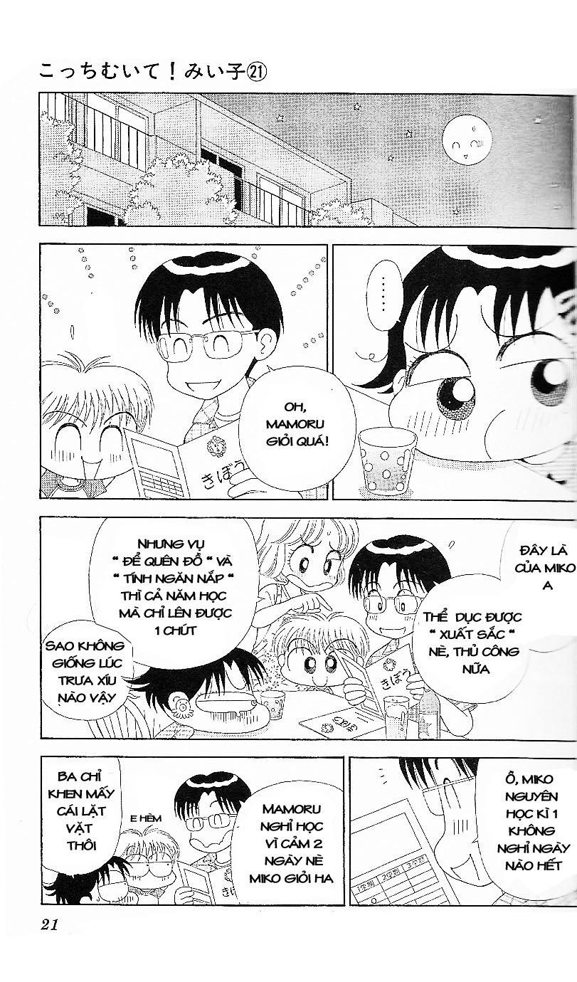 Kocchi Muite! Miiko chap 21 - Trang 19