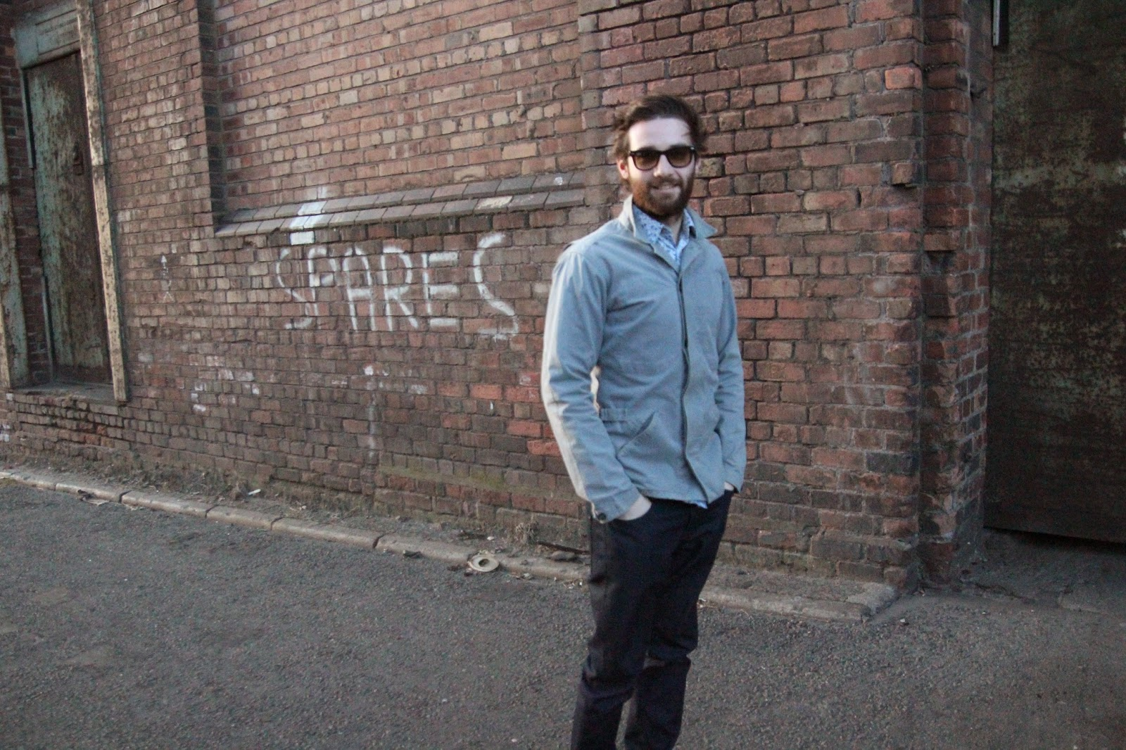 street style, menswear, reiss, ted baker, ray bans