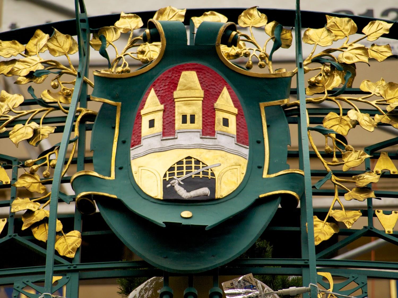 Escudo de la ciudad de Praga
