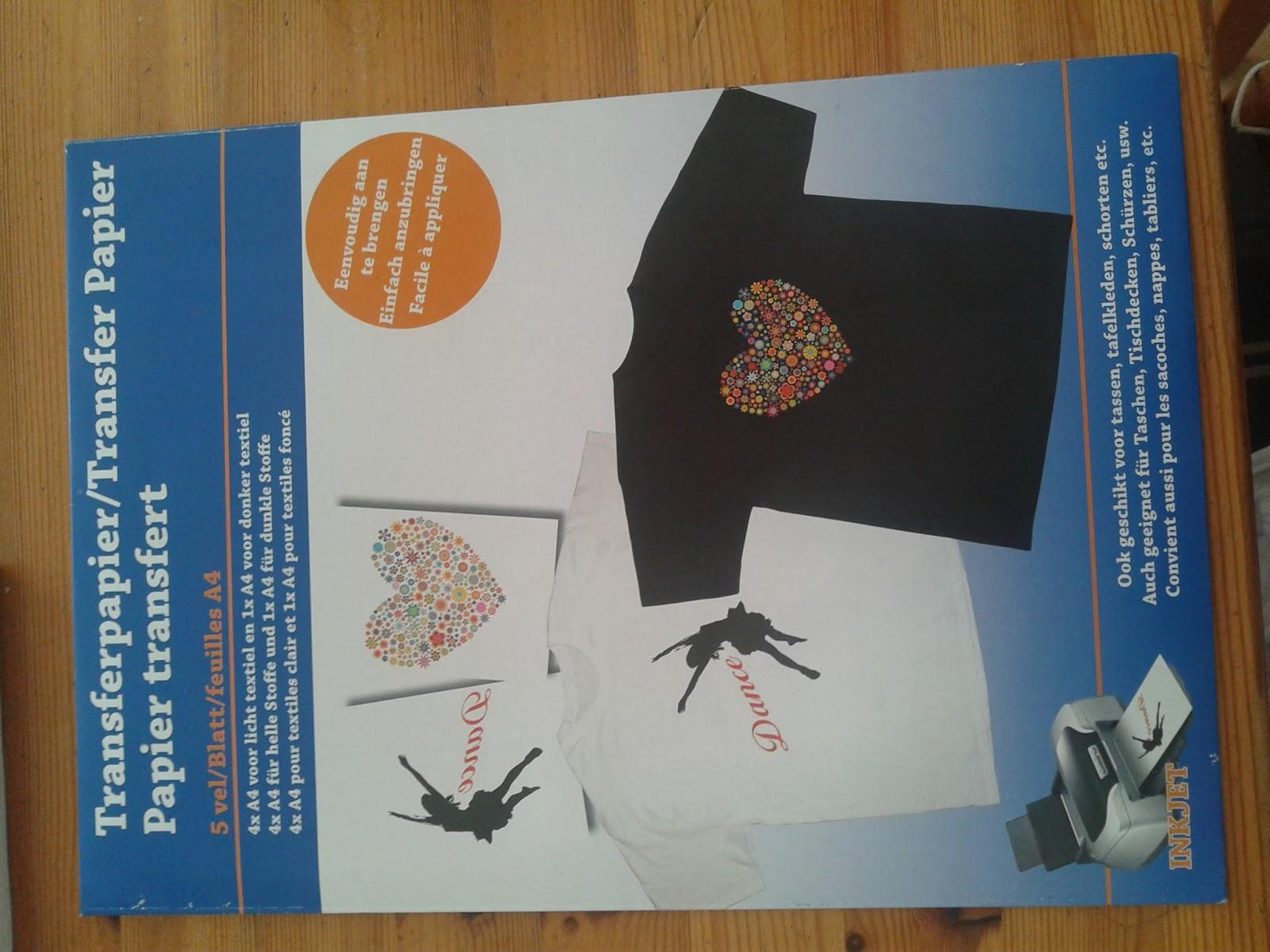 Looovelifebeauty fashion diy shirt bedrukken met for Transfer papier action