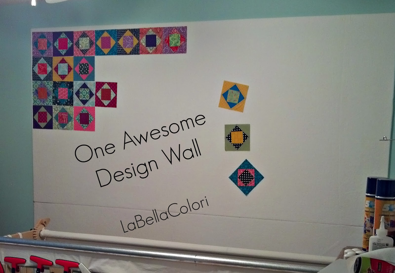 Design Wall by LaBellaColori Kira Bell