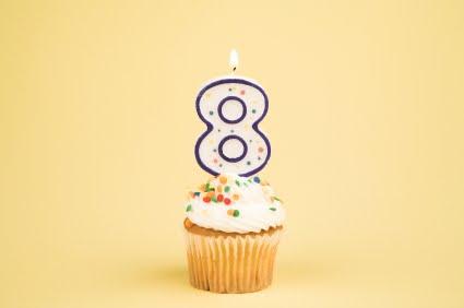 Mês de aniversário do blog