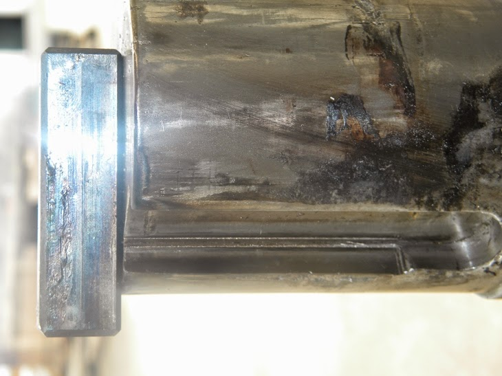 Damaged Shaft Keyway