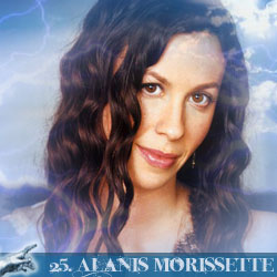 The 30 Greatest Music Legends Of Our Time: 25. Alanis Morissette