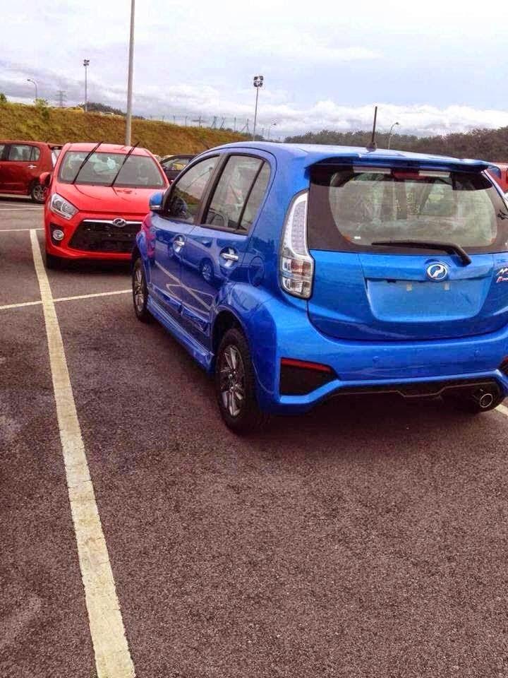 Rekaan Terbaru Perodua Myvi 2015 Yang Lebih Garang
