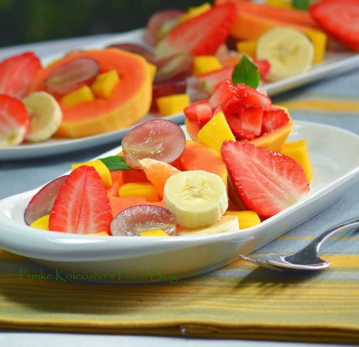 fruit platter fruits for healthy glowing skin