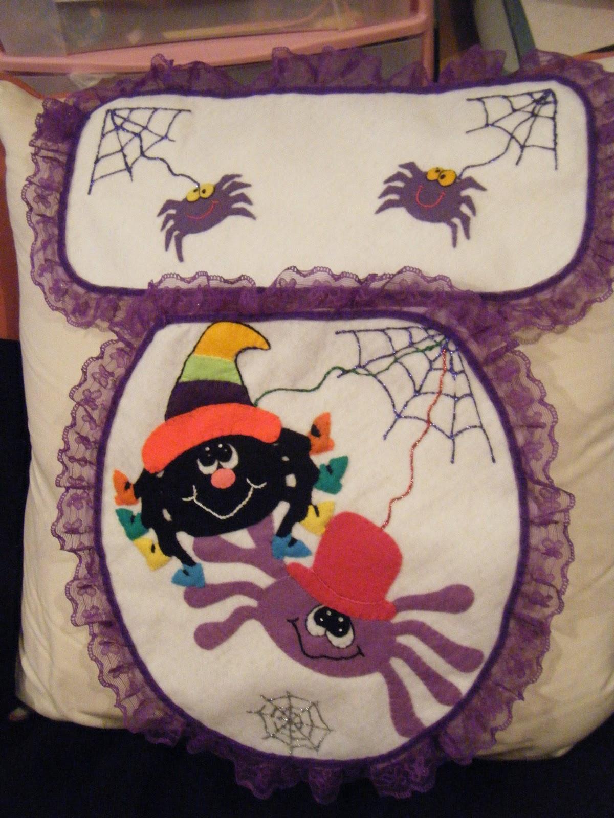 Juegos De Baño Halloween:UN GATO DE TRAPO: ♥ JUEGO DE BAÑO ARAÑITAS ♥