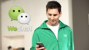 WeChat Digandrungi Anak Muda
