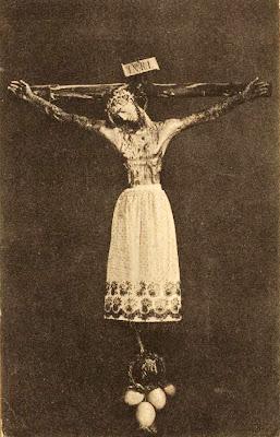 Cruz con pila benditera. XV-XVII. Cristo Enaguillas. - Página 2 CRISTO+DE+BURGOS+CRUZ