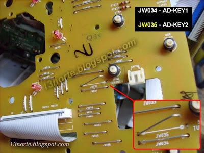 Botones HCD-GT444