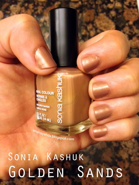 "Sonia Kashuk ""Golden Sands"" Swatch 