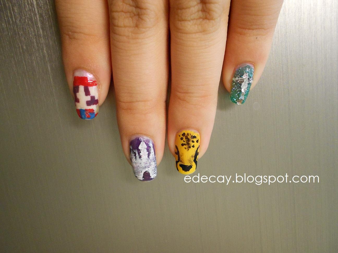 90 новых фото дизайн ногтей с пауками маникюр