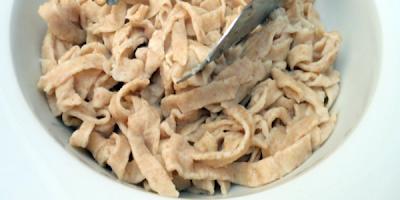 receta masa base para tallarines integrales