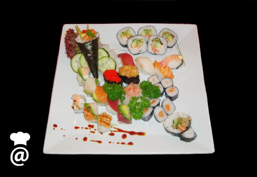 Recetas: Sushi variado