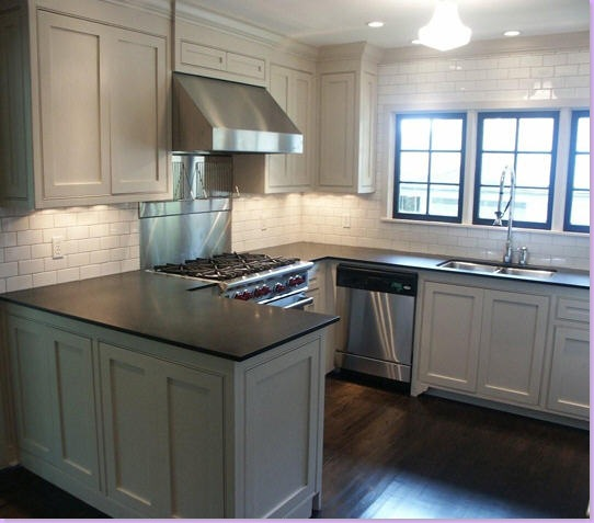 Blue Kitchen Countertops