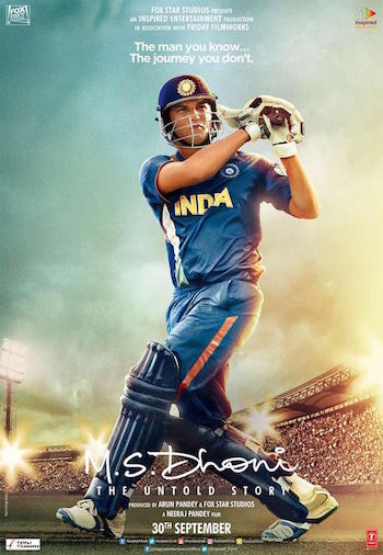 MS Dhoni The Untold Story 2016 Official Trailer 720p HD Download