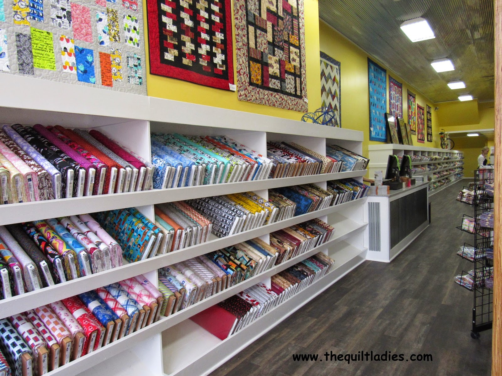 Photo's of Missouri Star Quilt Company quilt shop, by The Quilt Ladies