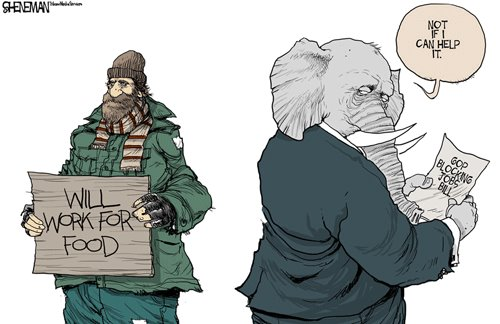 GOP Solution to Help Homeless, Hungry, and Jobs