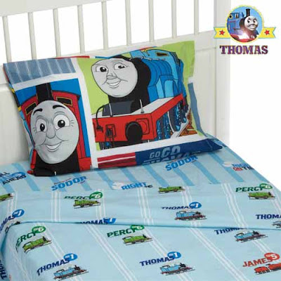 Themed toddler room furniture bedding merchandise Thomas tank and friends bed for children sheet set