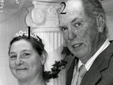 Irina de Roumanie et John Wesley Walker