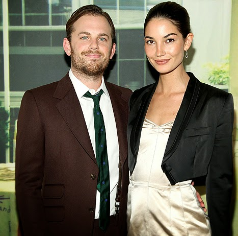 Lily Aldridge    193 ngel de Victoria  180 s SecretLily Aldridge And Caleb Followill 2014