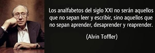 Frase Alvin Toffler