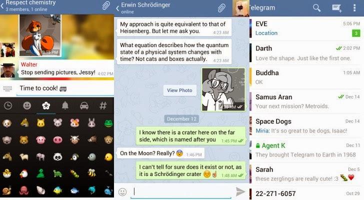 Telegram 1.5.0 untuk Android Terima Update Versi Terbaru ...