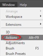 Cara Menambahkan Action Pada Photoshop